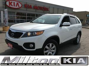2012 Kia Sorento LX AWD V6 - BOUGHT HERE