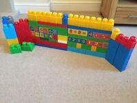 Mega Bloks- 100 pieces