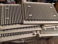 JOB LOT OF CENTRAL HEATING RADIATORS IN VERY GOOD CONDITION