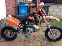 Ktm 50 pro junior race tuned