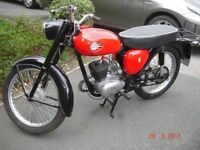 BSA BANTAM D7, 1964, IN GOOD CONDITION