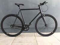 Chelsea Courier Black Brand New Single Speed Bicycle with Flip Flop Hub