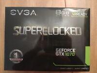 EVGA GTX 1070 Superclocked Black Edition