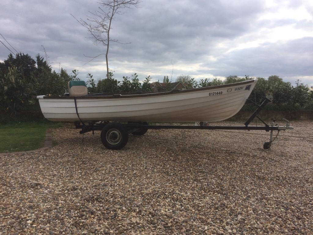 13 ft GRP Boat
