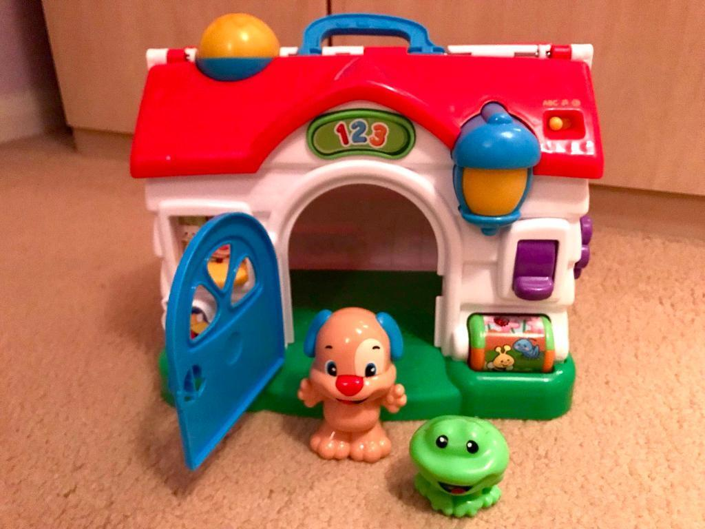 Fisher Price Laugh & Learn Puppy's Activity Home Playset