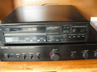 Marantz CD Player, Rotel Amplifier with Gale (for repair) Speakers