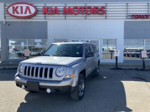 2015 Jeep Patriot Sport/North 4x4 with Leather and a Sunroof!