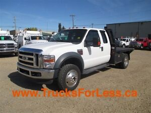 2010 ford F-550 XLT 4X4, SUPERCAB, 9 Ft DECK!!!