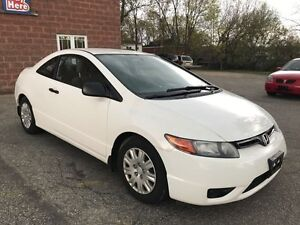 2008 Honda Civic DX - NO ACCIDENT - SAFETY & WARRANTY INCL