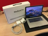 "Apple MacBook Pro 15"" Intel Core i7 4GB with two power packs"
