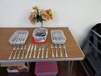 Large Forks and Dinner Knives- 75% off