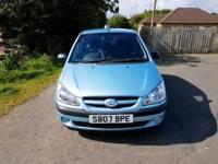 Hyundai Getz GSI 1 LTR Petrol, 2 Lady owners,56,000 Miles,Full History,MOT 18/4/18, TEL-07477651115.