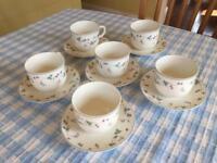 Royal Doulton Strawberry Fayre tea set