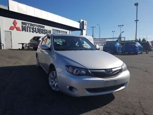 2010 Subaru Impreza 2.5 i; Local BC vehicle!
