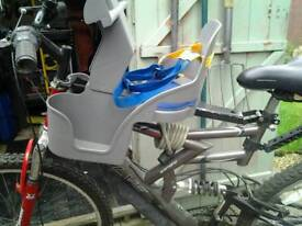 Child's bicycle seat