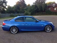 BMW 320D M Sport+Individual paint+Performance alloys+Carbon fiber wing mirror