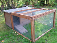 "The ""Jane"" Two-bird Chicken House and Run"