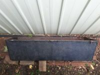 Large cast iron planter