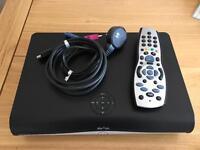 Sky+ HD Box + remote + cables