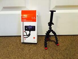 BRAND NEW Joby GripTight XL GorillaPod Stand Magnetic Mount and Tripod for Large Smartphones RRP £20