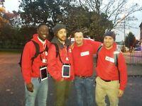 Full time door-to-door charity fundraising for the Red Cross £9-£13/hr