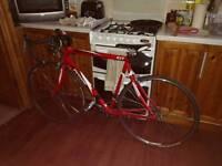Python original road race bike excellent condition