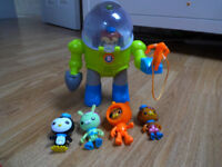 Octonauts Octo Suit with figures-£15 or best offer!