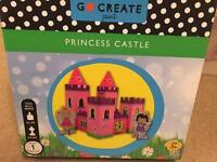 NEW Go Create princess castle