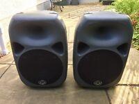 Wharfedale Titan 12 PA speakers