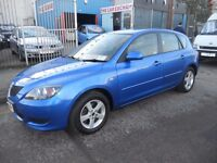 (2005)MAZDA 3 TS (TURBO DIESEL) 1.6.CC. 5 DOOR HATCH BACK ,FULL HISTORY.......