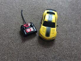 Bumblebee transformer remote control car