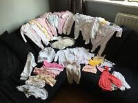 Baby clothes bundle 0-3 girls