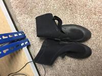Mystic wet shoes