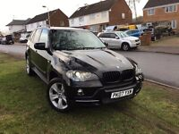 bmw x5 3.0d x.drive 4x4.7seats m sport hited Pan Roof CREAM LEATHER, REVERSE CAMERA