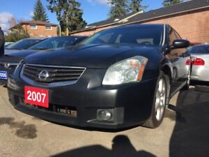 2007 Nissan Maxima Navi Bluetooth Leather Alloys Prox. Key LOADE