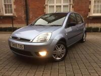 Ford fiesta 1.4 ghia ++ IMMACULATE ++ LEATHER SEATS not ford focus vauxhall corsa renault clio