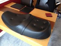 Triumph Bonneville King and Queen Seat. Used once as new. Genuine Triumph cost £249 new