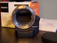 Sony LA-EA4 Full Frame E Mount > A Mount Adapter