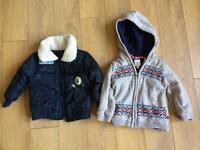 Boys coats 9 to 12 months