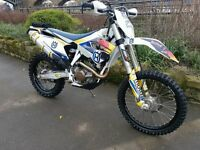 HUSQVARNA FE450 (65 PLATE) 1 OWNER FROM NEW (ENDURO/GREEN LANNING MACHINE)