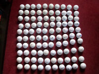 100 Golf Balls including Titlieist Nike Callaway Srixon Pinnacle and many more. Bargain bagful