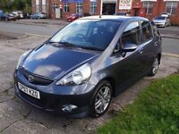 2007 AUTOMATIC HONDA JAZZ 1.4 CVT SPORT IN EXCELLENT CONDITION THROUGHOUT SMOOTH DRIVE VERY NICE CAR