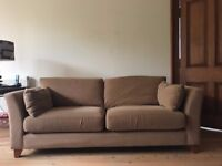 2 x M&S 3 Seater Sofas and a Matching Chair - Camel Colour - Great condition