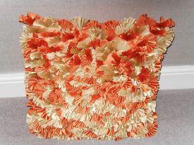 Orange and Gold Cushion