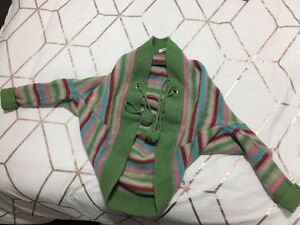 Girls country road size small cape cardigan Belmore Canterbury Area Preview