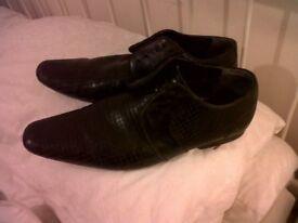 Frank Wright Mens Shoes BLACK
