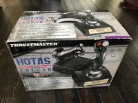Thrustmaster Hotas Cougar (2960534) Joysticks (box as new), MUST SELL ONO