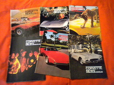 1976 Corvette News Magazines Complete Volume 19 Options Specs Aluminum Wheels