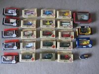 24 assorted Lledo Vehicles, All but one in original boxes