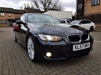 BMW 3 Series 2.0 320d M Sport 2dr Automatic, Full Service History, Long Mot, Xenon Lights